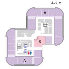7~13・15Fフロアマップ
