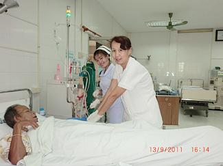 ラオス友好病院