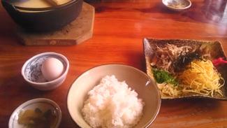 郷土料理「鶏飯」