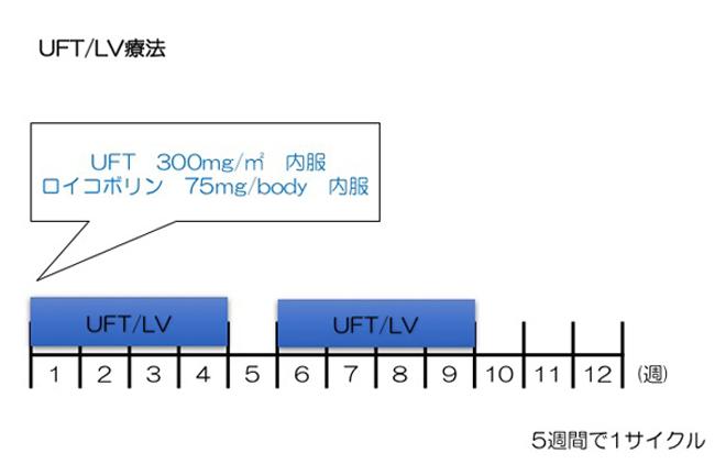 UFT/LV療法